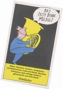 Bild von Herdi Fritz: Das isch denn Musig!