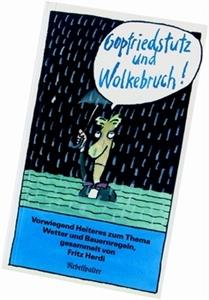 Bild von Herdi Fritz: Gopfriedstutz und Wolkenbruch