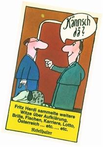 Bild von Herdi Fritz: Kännsch dä?