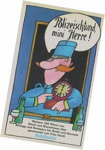 Bild von Herdi Fritz: Polizeischtund, mini Herre!