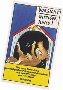 Bild von Herdi Fritz: Vorsicht, witziger Hund!