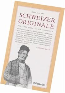Bild von Jenny Hans A.: Schweizer Originale Bd. 2